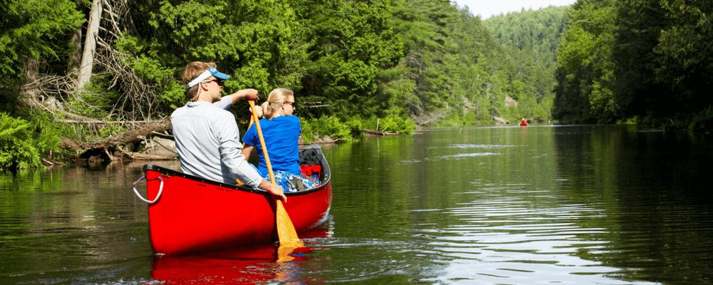 Canoagem é uma boa atividade física para sair da rotina