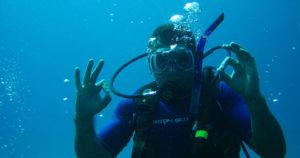 Conheça os benefícios do mergulho