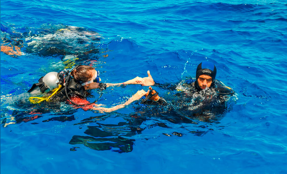 O que são as certificadoras de mergulho