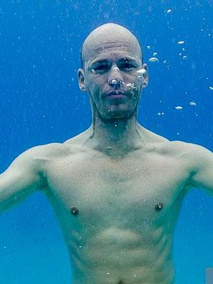 Herbet Nitsch, recordista mundial de mergulho em apneia