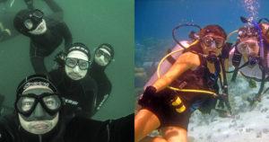 Entenda a diferença entre mergulho livre e mergulho autônomo