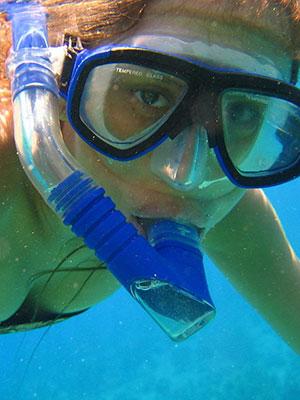 O mergulho com snorkel é uma forma de mergulho livre