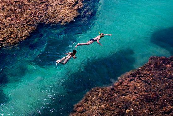 Turismo de aventura na Península do Maraú