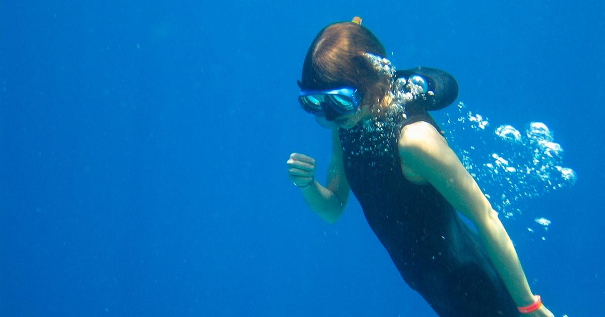Mergulho em apneia, o que é e como funciona