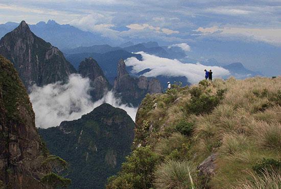 Turismo de aventura no Parque Nacional da Serra dos Órgãos