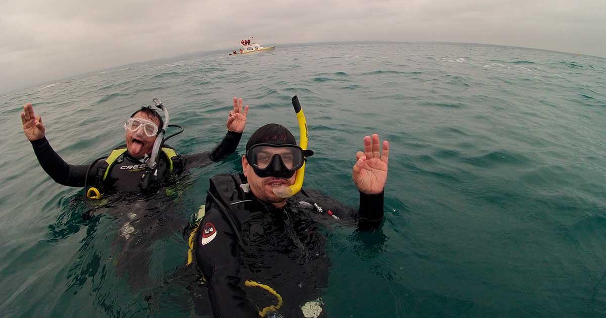 Aprenda como tirar foto embaixo d'água
