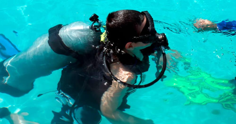 Mergulho para crianças