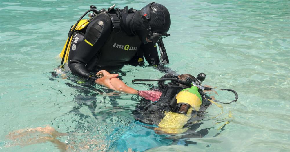 Mergulho para crianças é uma ótima atividade