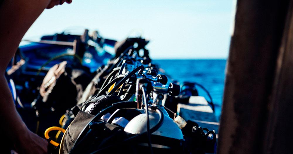 Mitos sobre mergulho envolvendo preço