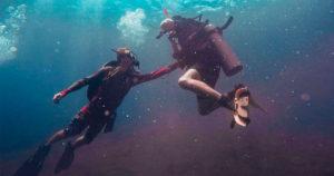 Mergulhar é seguro, descubra o porque