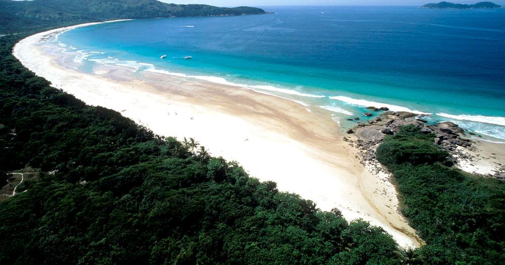 Praia Lopes Mendes é uma das melhores praias do Rio de Janeiro