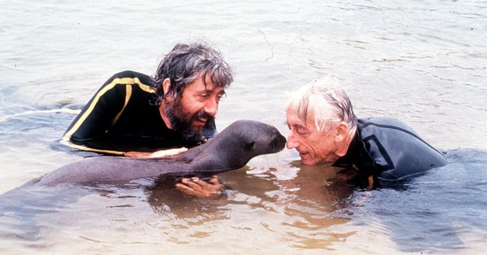 Jacques Cousteau foi também um biólogo marinho