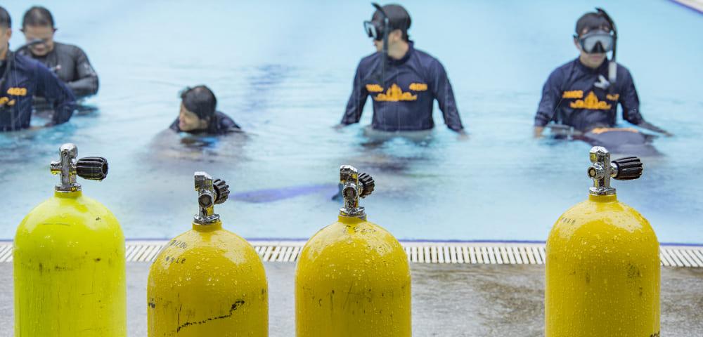 Curso de mergulho básico