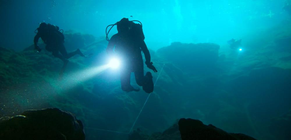 Curso de Mergulho em Cavernas