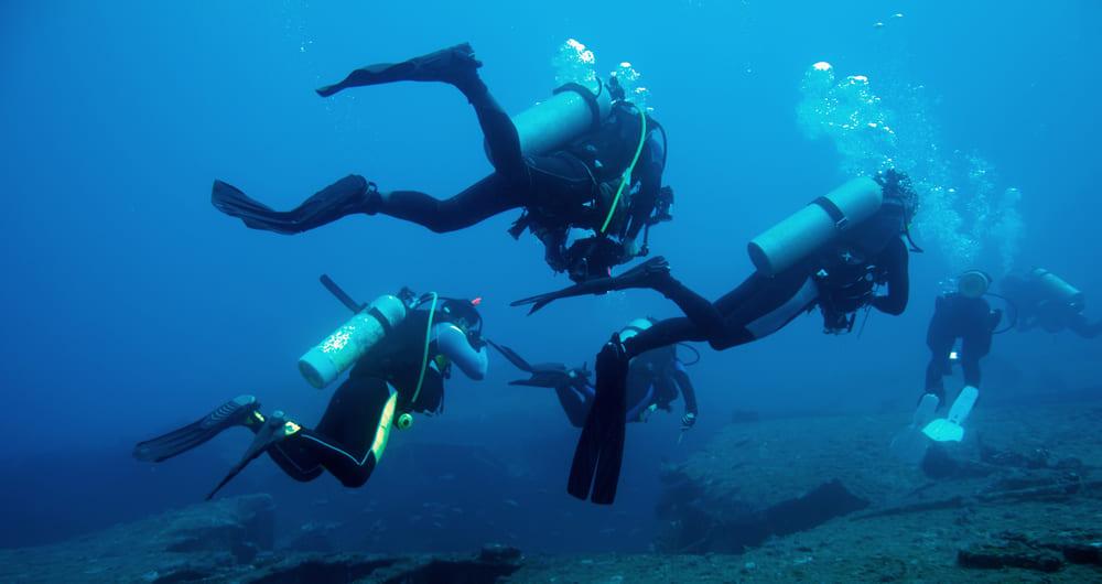 O certificado de mergulho traz mais autonomia