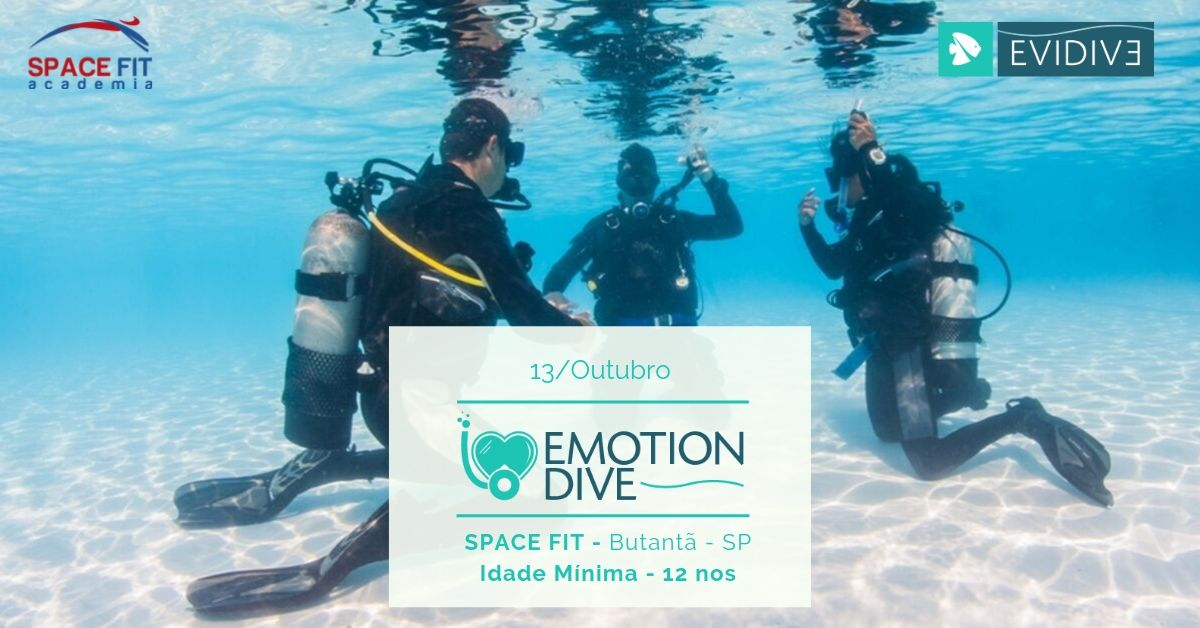 Emotion Dive na SPACE FIT Sympla